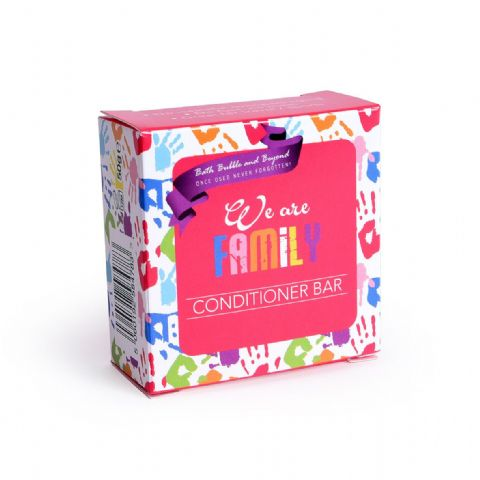 WE ARE FAMILY Conditioner Bars Fresh Mild Gentle Hair - Bath Bubble & Beyond 50g